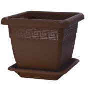 Square Pot Quadro Chocolate